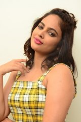 Nanditha Swetha at 7 Seven Movie Press Meet